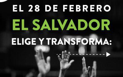 El Salvador ELIGE Y TRANSFORMA