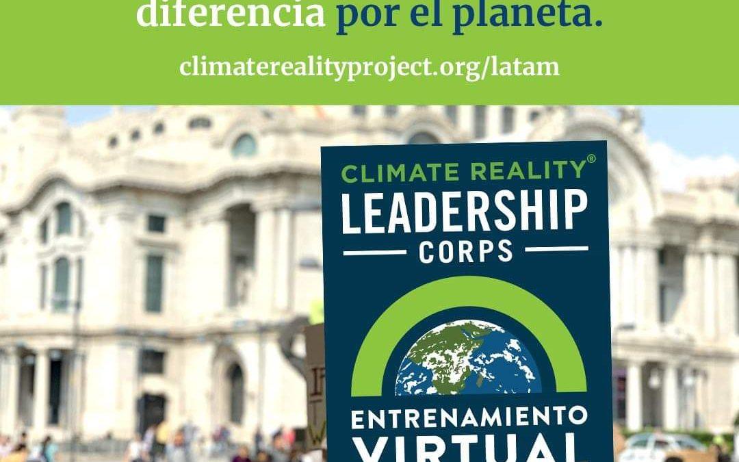 CLIMATE REALITY LEADERSHIP CORPS: ENTRENAMIENTO VIRTUAL AMÉRICA LATINA