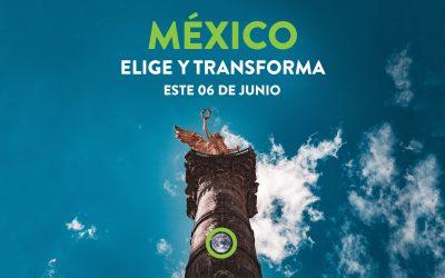 El momento de México ha llegado. Usa tu voz, tu voto y tú decisión