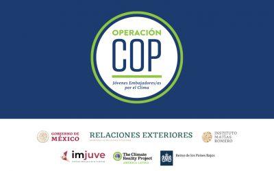 RESULTADOS CONVOCATORIA PARA PROCESO DE CAPACITACIÓN EMBAJADORES Y EMBAJADORAS JUVENILES COP 26